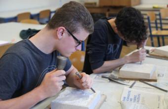 Bildhauerei-Workshop – 7. Klasse