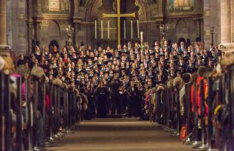 Konzert vor ausverkauftem Münster