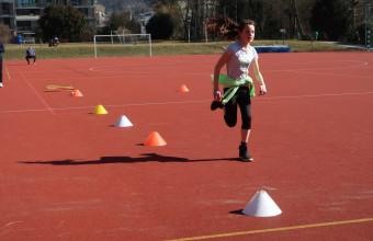 Sportunterricht im Freien